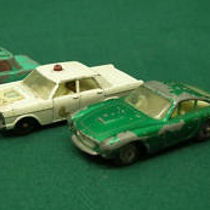"These Matchbox cars are below ""Good"" condition"